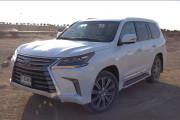 新车评网YYP迪拜试驾雷克萨斯LX570视频