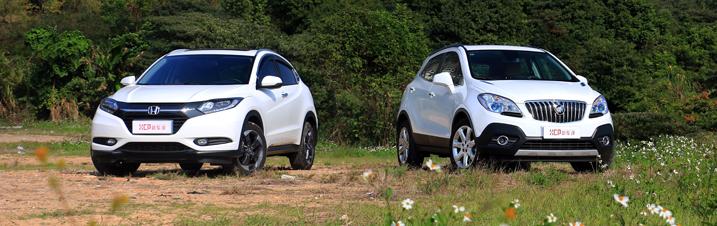 合资A0级SUV销量榜之争 昂科拉、缤智长途对比测试