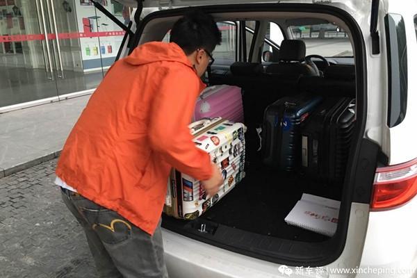 长安欧尚长测(9)机场接送实战检验
