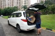 长安欧尚长测(4)以搬家之名测232布局的装载能力