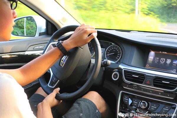 博瑞长测(32)细节看博瑞——行驶动态还像新车吗?