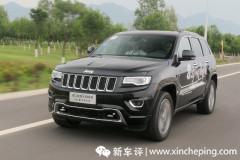 2016款Jeep大切诺基首试:被动更加硬派
