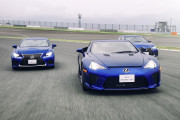 日本雷克萨斯F预告片:极致的驾驶机器,自然进气的咆哮