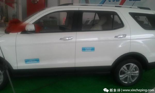 简评长安CX70车辆配置高清图片