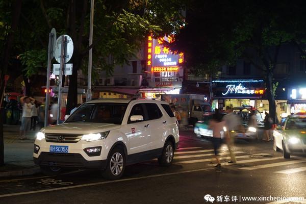 长安CX70长测(12)走进老城区,动力原来很从容