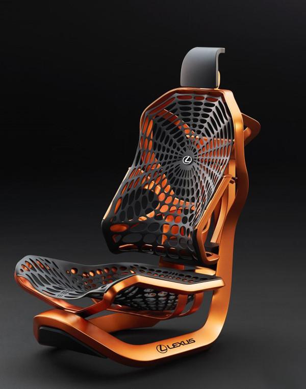 蛛网造型设计 雷克萨斯将发布