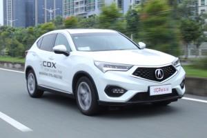 新车评网试驾广汽讴歌CDX视频