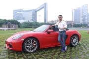 新车评网YYP试驾保时捷718 Boxster视频