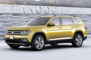 国产版车型将于广州车展亮相,大众全新中大型SUV官图正式发布