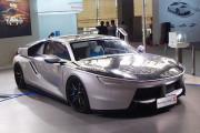 2016广州车展实拍:汉能solar-R