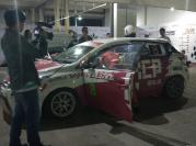 排位赛结束后,致炫赛车刹车发现故障