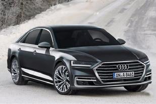 新一代奥迪A8预告图曝光 或亮相法兰克福车展