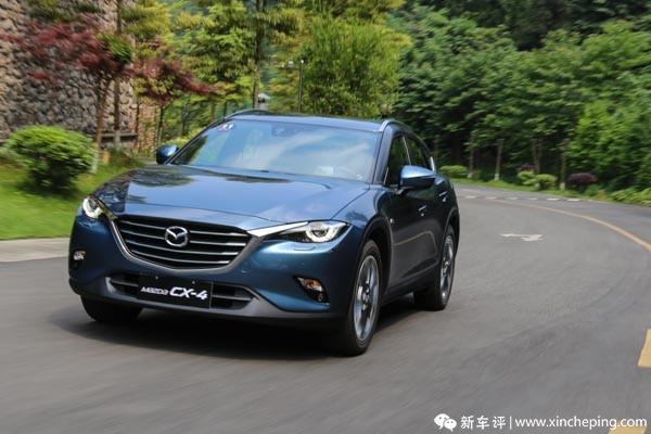 售16.08万元 马自达CX-4蓝天探索版上市