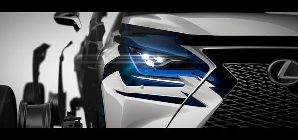 曝雷克萨斯上海车展阵容 新款NX全球首发