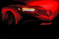 4月纽约车展首发 讴歌新款TLX预告图