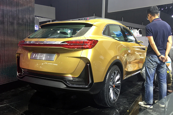 采用品牌最新的设计语言,红旗U-Concept概念车