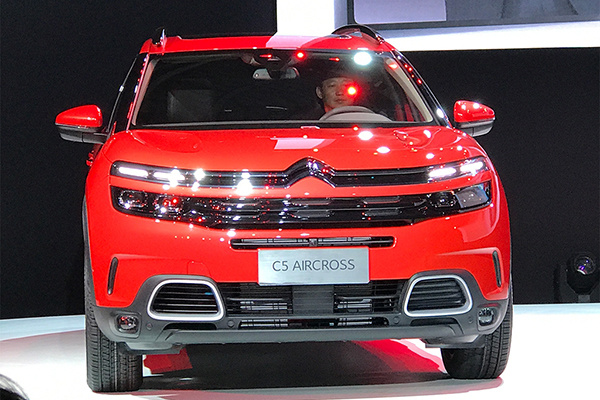 """中文名叫""""天逸"""" 雪铁龙C5 AIRCROSS首发"""