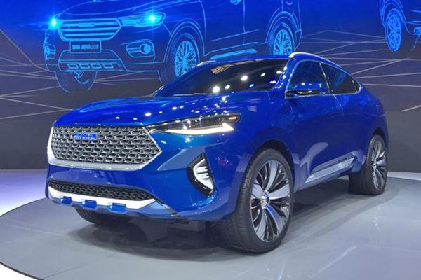 上海车展:哈弗HB-03 Hybrid概念车