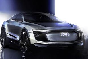 外观造型十分科幻,奥迪全新概念车预告图发布