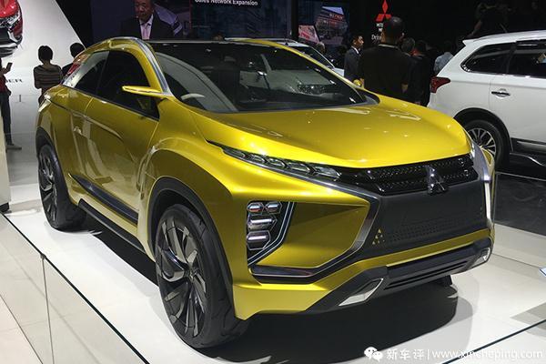 上海车展:跨界+纯电动 三菱eX Concept国内首发