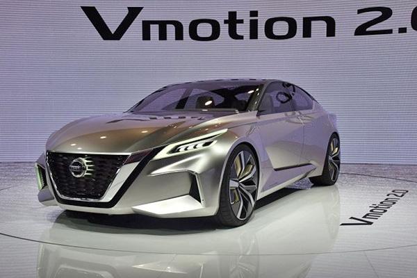 上海车展:日产Vmotion 2.0概念车