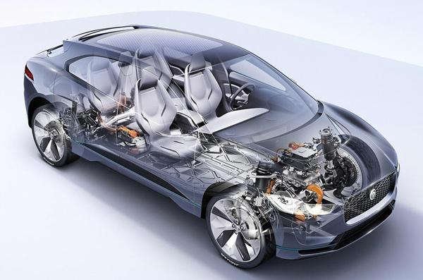 首款电动SUV 捷豹I-PACE概念车中国发布