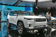 上海车展新车实拍之Jeep云图概念车:为情怀买单?