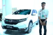 2017上海车展新车视频:本田全新CR-V