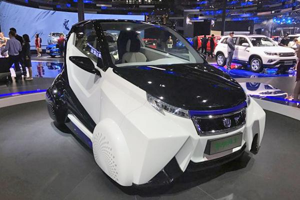 上海车展:长安机甲勇士概念车首发