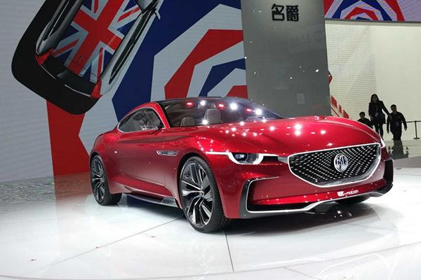 上海车展:MG E-motion概念车亮相