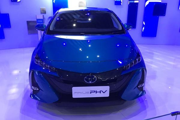 上海车展:丰田普锐斯Prime亮相