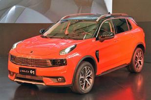 今年第四季度上市,LYNK&CO准量产版车型国内发布