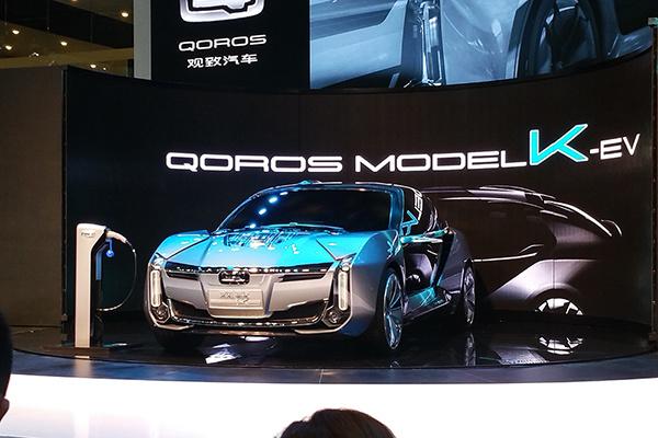 上海车展:观致Model K-EV概念车