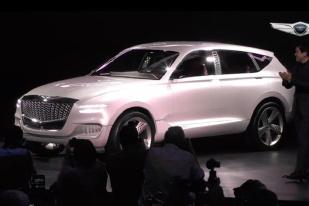 纽约车展:Genesis GV80概念车发布