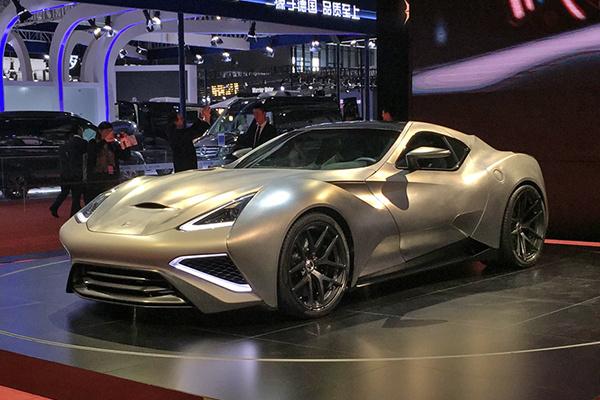 上海车展:仅生产一辆,Vulcano Titanium售6680万元
