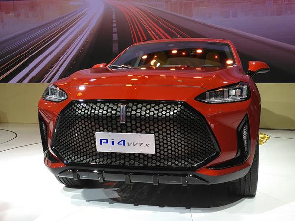 上海车展:WEY Pi4 VV7x概念车