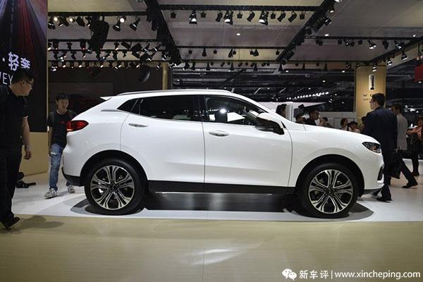 上海车展:WEY VV5车型首次亮相
