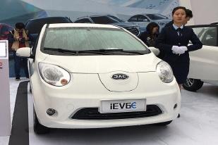 售11.85-15.85万 江淮iEV三款新车上市