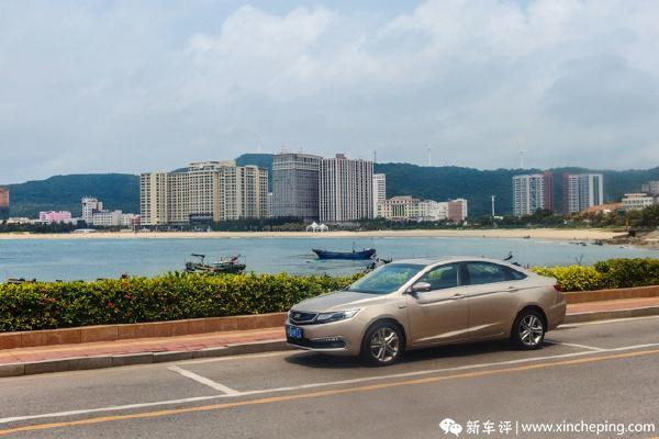 帝豪GL长测(9)周末自驾,带着家人去看海