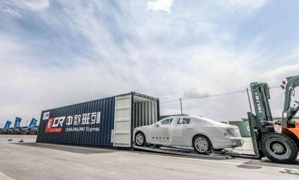中国制造打入欧洲 沃尔沃专列即将到站