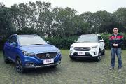 名爵ZS对比现代iX25,年轻人的第一辆小型SUV选谁?