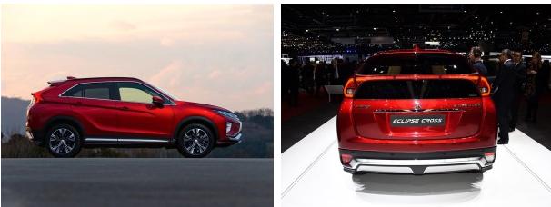 三菱发布新车,Eclipse Cross将于10月量产
