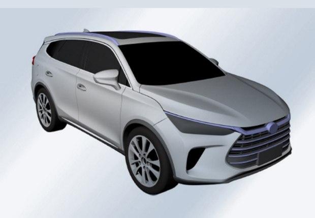 或为新一代唐 曝比亚迪全新SUV专利图