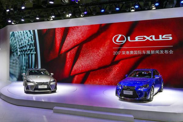 雷克萨斯LS350全球首秀,新IS300也玩换尾标