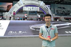 2017深港澳车展看车记:等等,中介正在召唤四个外籍车模