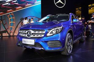售27.18-39.90万 奔驰新款GLA正式上市