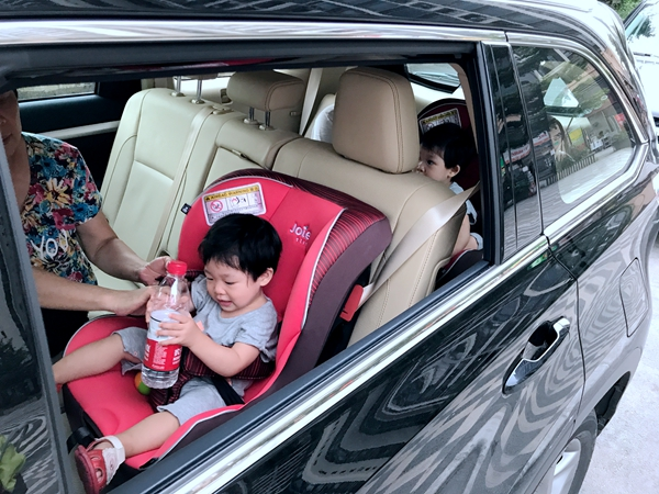 汉兰达长测(7)二孩奶爸和7座SUV的日常