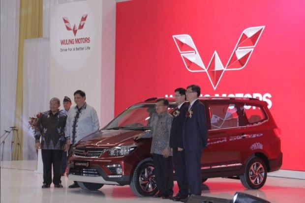 五菱品牌进军印尼 首款车型正式下线