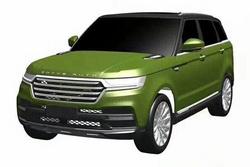 豪华大气风 众泰全新SUV车型专利图曝光