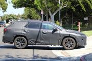 车身长度增加160mm,雷克萨斯RX七座版最新消息
